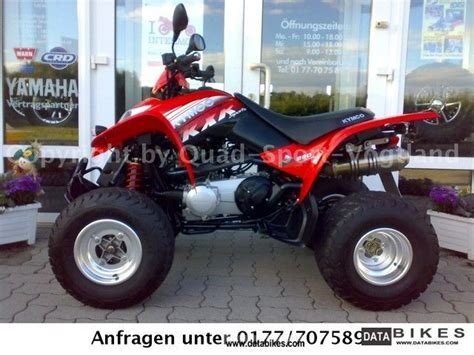 2010 Kymco KXR with 250 sports exhaust top maintained