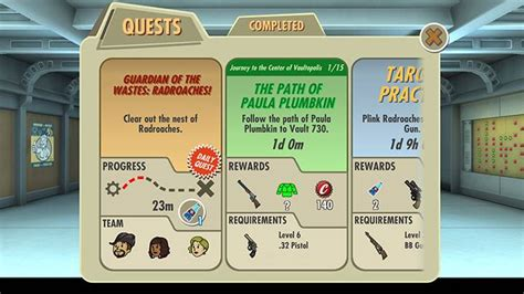 Fallout Shelter will introduce quests come Update 1