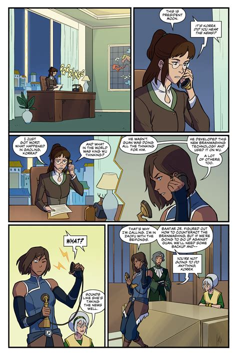 The Legend of Korra: Ruins of the Empire (2019-) Chapter 3
