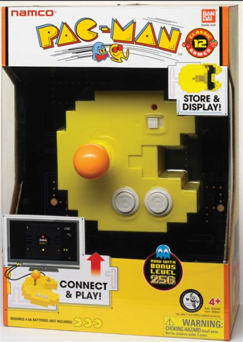 NAMCO PAC MAN CONNECT Plug-and-Play TV VIDEO Game 12 N 1