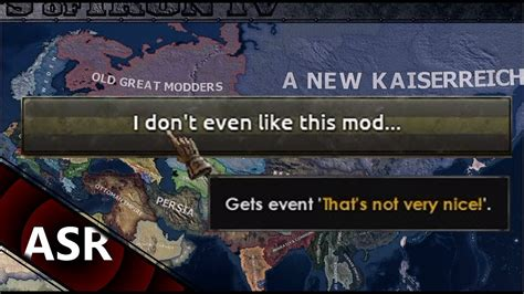 """Kaiserreich - """"I don't even like this mod"""