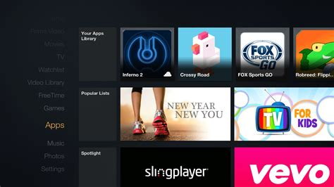 How to update an app on the Amazon Fire TV or Fire TV