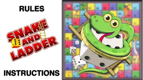 Snakes and Ladders Board Game Rules & Instructions | Learn