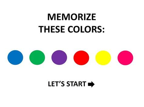 What Color Is Your Memory? • Quiz Cow
