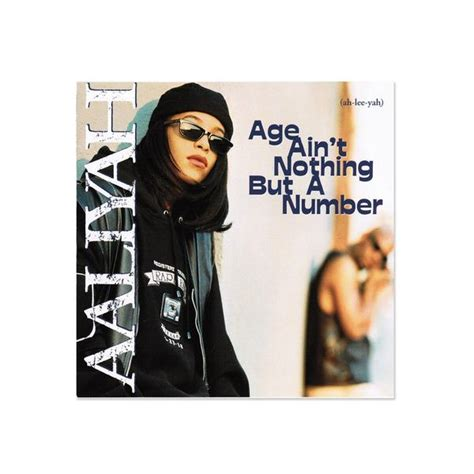 Aaliyah - Age Ain't Nothing But A Number (LP) – amongst few
