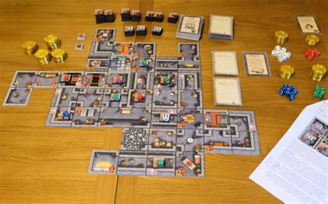 Print and Play Board Games: Dungeon War