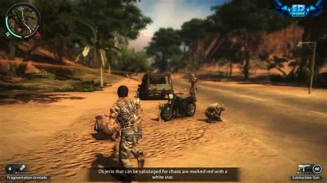 Just Cause 2 PC Gameplay Maxed Out Settings 720p HD Win 7