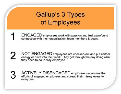 """Corey Harris on Twitter: """"#Gallup - 3 Types of Employees"""