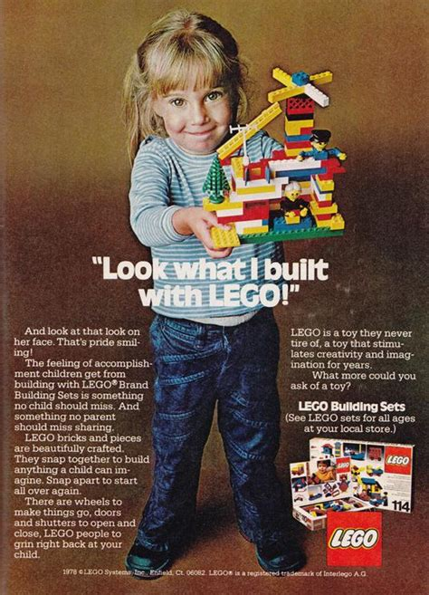 Another Blast from Lego's Past: Gender-Neutral Vintage Ads