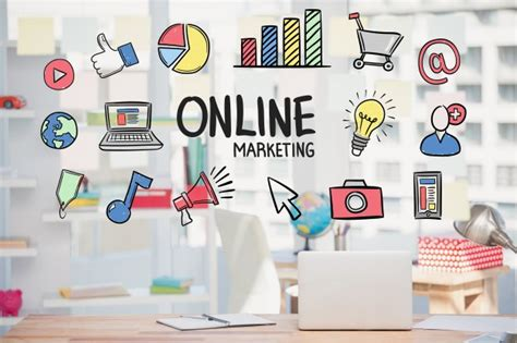 Free Photo | Marketing online strategy with drawings