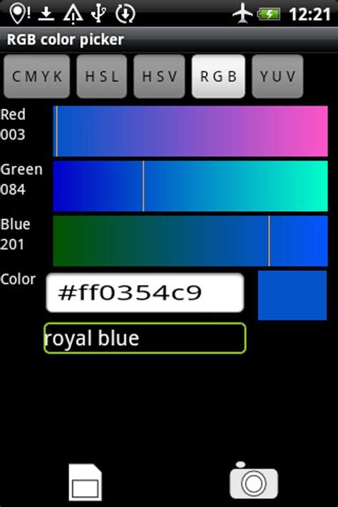 Rgb Color Picker for Android - APK Download