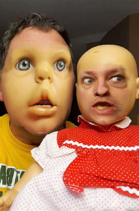 15+ Funniest Face Swaps From The Most Terrifying Snapchat