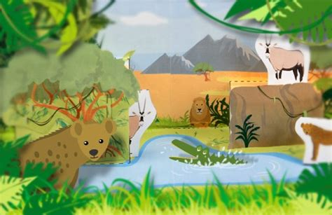 Jungle airport craft set for kids