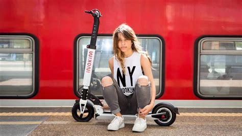 This electric scooter is a great alternative to driving