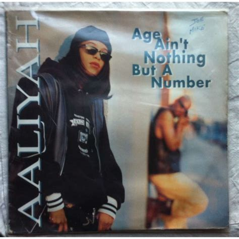 Age ain't nothing but a number by Aaliyah, LP x 2 with