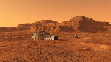 This New Concrete Was Developed for Structures on Mars