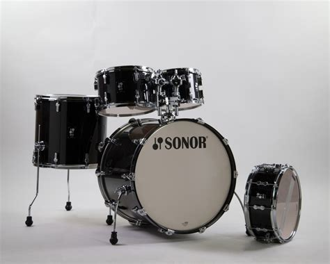 Sound of Music | Sonor AQ2 Stage Set Transparent Stain Black