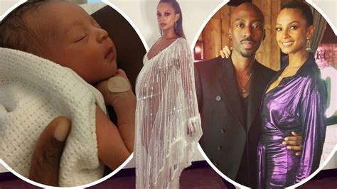 Alesha Dixon shares first picture of newborn after giving