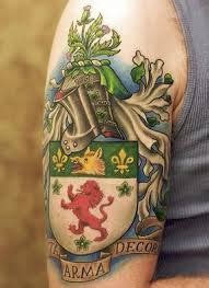 What Does Family Crest Tattoo Mean? | Represent Symbolism