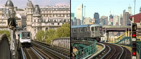 Paris vs New York : the differences - YouTube