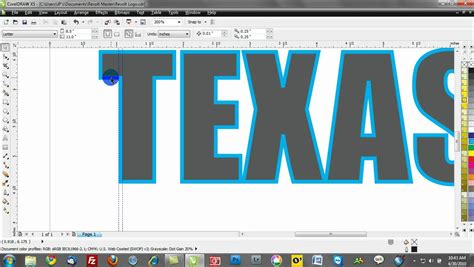 Corel draw x5 tutorial: Working with outlines - YouTube