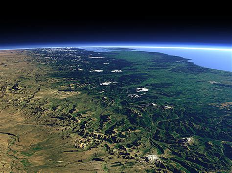 Views of the Earth - The Southern Andes Mountains 2