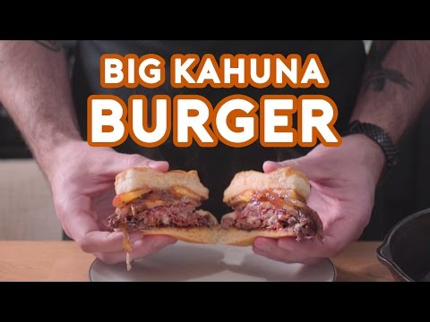 Pulp Fiction - Big Kahuna - This is a tasty burger - Back