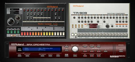 Roland introduces a TR-808 VST and TR-909