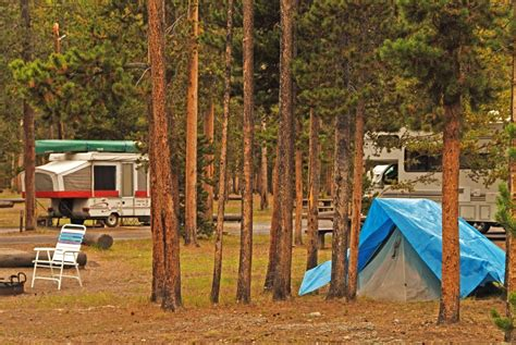 Madison Campground: Camping in Yellowstone