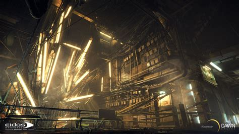 16 HD Deus Ex Mankind Divided Game Wallpapers