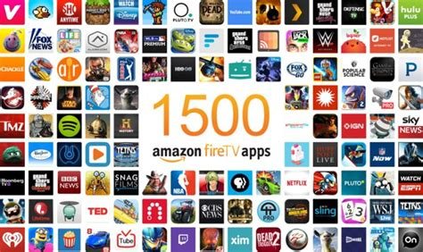 Amazon Fire TV reaches 1,500 apps   AFTVnews