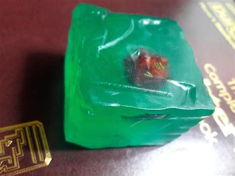 Dungeon Monster Gelatinous Cube Soap With Random