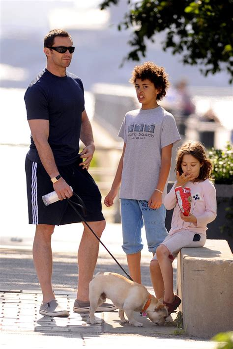 Hugh Jackman spends Father's Day with his daughter Ava and