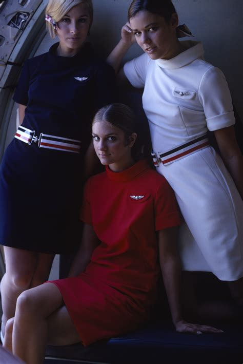 Sexy stewardesses were exploited by airlines to sell more