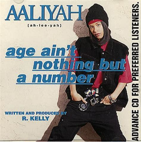 Aaliyah Age Ain't Nothing But A Number US Promo CD album