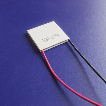 Hb Cooler Peltier Plate Thermoelectric Generator 30mm
