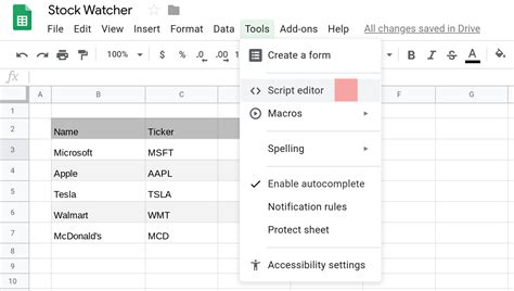 Send email from Google Sheets based on a schedule