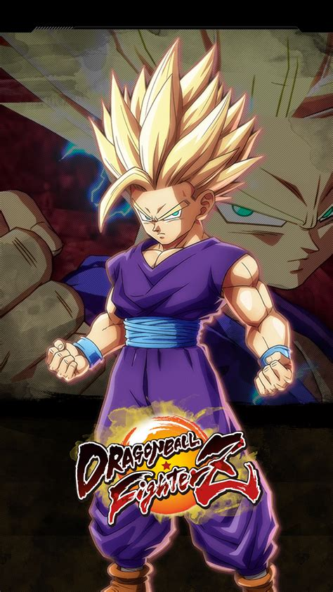 Dragon Ball FighterZ Gohan Teen Wallpapers   Cat with Monocle