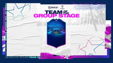 FIFA 21: Champions League Team of the Group Stage release