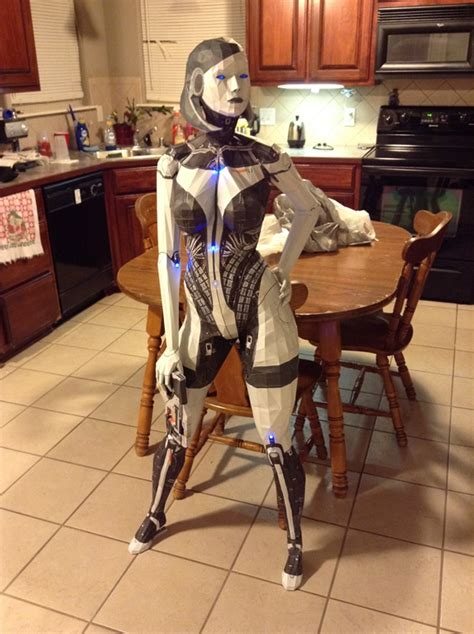 Mass Effect Papercraft Characters Are Massively Impressive