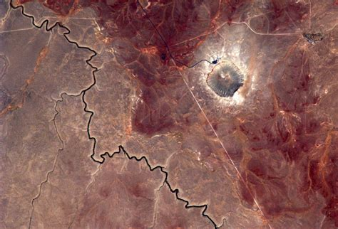 Space in Images - 2014 - 08 - Meteor Crater, Arizona