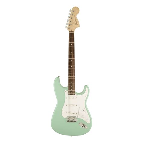 Squier Affinity Stratocaster – Surf Green – Woods Guitars