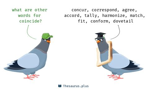 Words Coincide and Coexist have similar meaning