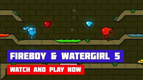 Fireboy and Watergirl 5: Elements Game - Play Fireboy and