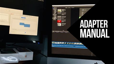 How to Connect iMac 5K to external monitor (1080p) that