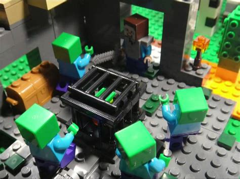 LEGO MINECRAFT THE ADVENTURES OF STEVE - PART 6 THE