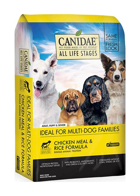 Canidae Chicken & Rice Dog Kibble - Teton Tails