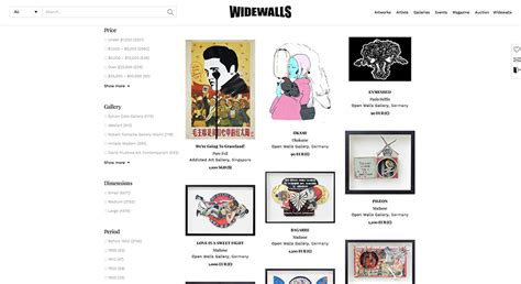 Widewalls Marketplace – The Best Place to Buy Art Online