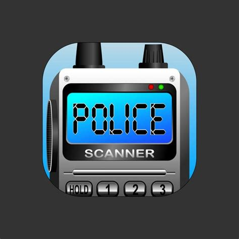 Create a mobile icon for Police Scanner App | Icon or