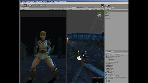 Fuse Customized Model & Mixamo Animation & Demo with